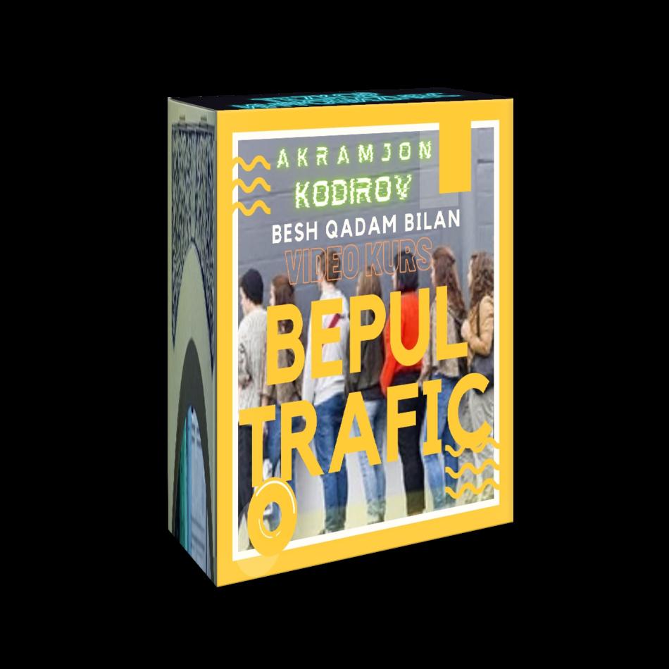 Бепул трафик учун 5 қадам (видеотренинг)